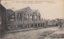 GUERRE 14-18 WW1 SOMME ALBERT usine de cycles rochet schneider BRITSH SUB écrite