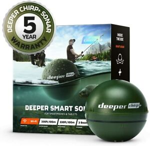 Deeper Chirp+  Castable Smart Sonar WiFi & GPS Fish finder -  NEW & DHL shipment