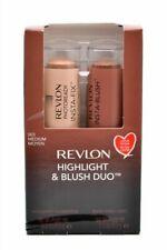 Revlon Highlight & Blush Duo; 003 Medium .31oz Each Brand New in Box