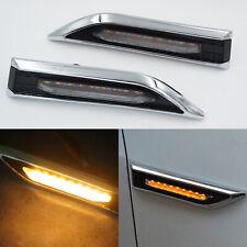 2pcs LED Side Marker Turn Signal Lights For Chevrolet Cruze Sedan Hatchback