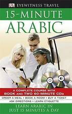 15-minute Arabic CD Pack: Learn Arabic in Just 15 Minutes a Day by DK (Paperback