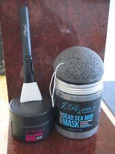 Facial set, skin care, sponge, blackheads, mud mask, facials, peels, face wash