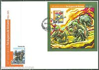 GUINEA BISSAU 2015 40th ANNIVERSARY OF THE END OF THE VIETNAM WAR S/S FDC