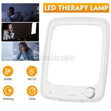 LED Tageslichtlampe 10000 LUX Lichttherapie Lampe 6500K Dimmer Lichtdusche Licht