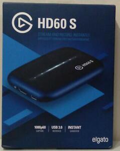 Elgato Game Capture HD60 S - Stream and Record in 1080p60- Brand New Open Box