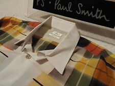 "PAUL SMITH Mens MAINLINE Shirt 🌍 Size L (CHEST 44"") 🌎 RRP £195+📮PAINTED CHECK"