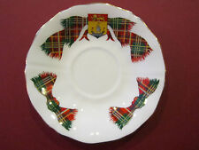 Royal Adderley TARTAN CUP SAUCER Fine Bone China England NEW BRUNSWICK
