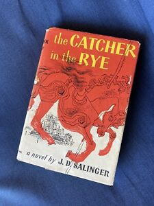The Catcher in the Rye Hardcover 1951 31st Printing with Dust Jacket