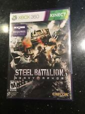 Steel Battalion: Heavy Armor (Microsoft Xbox 360, Brand New Factory Sealed