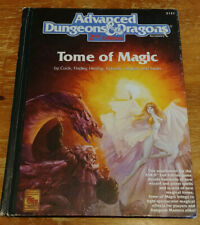 Dungeons & Dragons 2 2e 2nd Accessory - Tome of Magic (1991, 2nd print) (VG)