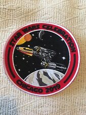Star Wars Celebration Chicago 2019 Y-Wing Starfighter Custom Patch 4 Inches