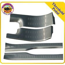 Fit 15-16 Mitshbishi Outlander InSide Door Sill Step Scuff Plate Stainless