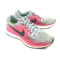 Nike Zoom Pegasus 34 Womens 7.5 Pink Gray Running Shoes Sneakers