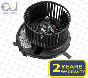 HEATER BLOWER MOTOR FAN FOR AUDI A3 8P Q3 TT & SKODA OCTAVIA II SUPERB II YETI