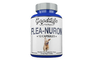 1 Year Supply 12 Capsules Monthly Flea Control For Dogs 2-10lbs 45mg