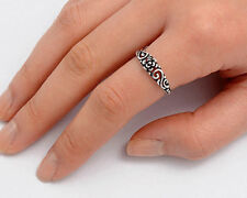 USA Seller Plumeria Ring Sterling Silver 925 Best Deal Plain Jewelry Size 13