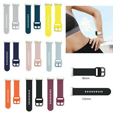 For Fitbit Versa 3/ Sense Strap Silicone Wristband Breathable Band + Metal Clasp