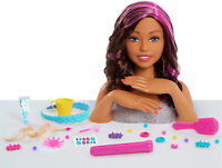 Barbie Color and Style Deluxe Styling Head Brown Kid Toy Gift