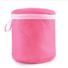 Zipped Wash Bag Laundry Mesh Net Lingerie Bra Underwear Socks Hosiery Protect UK