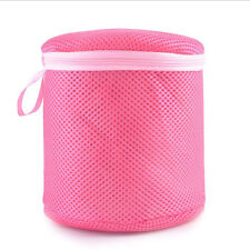 Zipped Wash Bag Laundry Mesh Net Lingerie Bra Underwear Socks Hosiery Protect