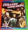 COMANDO LEOPARDO / KOMMANDO LEOPARD - English Español - Bluray AREA ALL Precinta