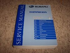 2006 Subaru Impreza STI Engine Service Repair Manual WRX Turbo TR Limited