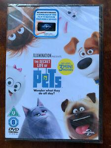 Secret Life of Pets DVD  2016 Animated Family Feature Film Movie BNIB