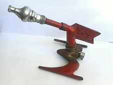 Rare 1930's Antique W.D. Allen Red Arrow Atomic Rocket Style Lawn Sprinkler