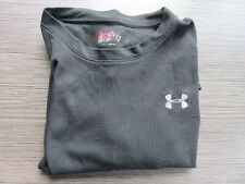 Under Armour Mens Long Sleeve Shirt Size Large Color Navy/Silver