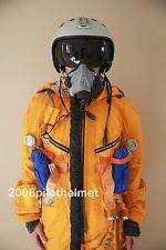 Flight Helmet Su-33 Fighter (Flanker-D) Pilot Sealed+ Flight Suit MK-4-15  P-6#
