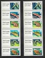 Error 2nd Class & 2nd Large on Freshwater Life: Lakes Post & Go strips.