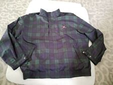 Vintage 90s Polo Ralph Lauren Blackwatch Tartan Shield Crest Blouson Jacket 2xl