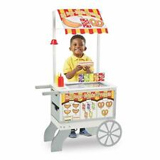 Melissa & Doug Wooden Toy Snacks and Sweets Food Cart Kids Xmas Birthday Gift