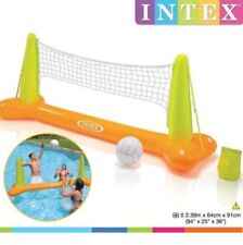 INTEX Pool Volleyball Set Game with Ball Floating Swimming Pool Game Beach Party