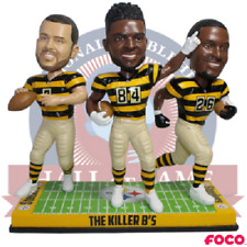 Pittsburgh Steelers Killer B's Roethlisberger Brown Bell Bobblehead NFL
