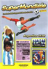 SUPER MONDIALE CALCIO - ARGENTINA 1978 - STORIA DELLA COPPA DEL MONDO - PANINI