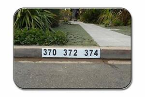 Reusable Curb Address Number Stencil, Customized for You! (2)
