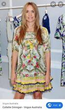 COLLETTE DINNIGAN Sz S Dress Silk 2011/12 Paris Runway Collection 1 of 16 made