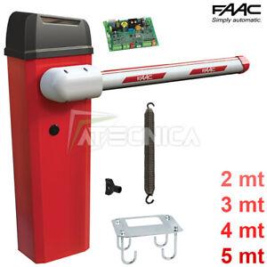 Spalte Barrier Automatisch 24V faac B614 104614 Mit Zentrale Elektronik