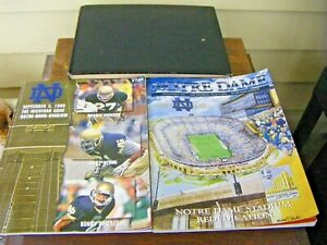 Lot of 3 Notre Dame Football Books