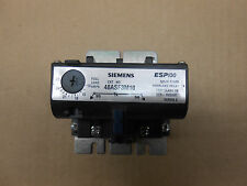 1 NTO SIEMENS 48ASF3M10 OVERLOAD RELAY ESP100 TRIP CLASS 10 SERIES C SOLID-STATE