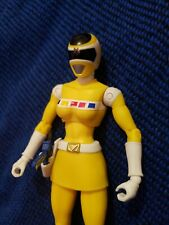 "Legacy Collection Yellow Ranger 6.5"" Bandai Power Rangers In Space Loose"