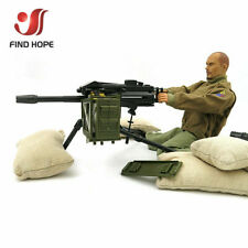 1:6 Scale Mk 19 Grenade Launcher Model Military US Army Assembly Toy MK19-0
