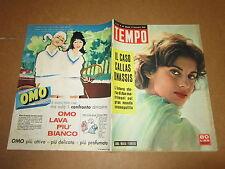 RIVISTA IL TEMPO SETTEMBRE 1959 CALLAS ONASSIS ANNA MARIA FERRERO B.BARDOT
