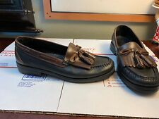 Duck Head Mens Shoes Tassel Loafers Leather Size 9M Pristine SLIP ON Boat Shoes