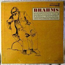Brahms Symphony No 1 in C Minor Op 68 Karel Ancerl Czech Philharmonic Orc LP NM