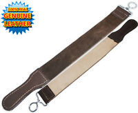 """NEW 18"""" Straight Razor Leather Sharpening Strop Dual Sided"""