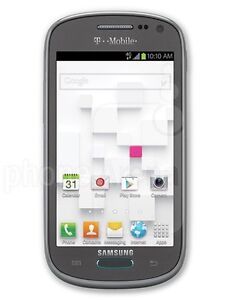 Samsung Galaxy Exhibit SGH-T599N WHITE - Gray (MetroPCS) Smartphone UNLOCKED