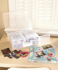 Photo Keeper Organizer Cases Clear Multicolored Store up to 1,600 Photos or More