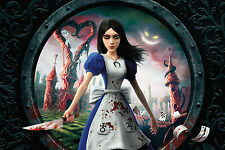 Alice Madness Returns POSTER 36X24 INCHES